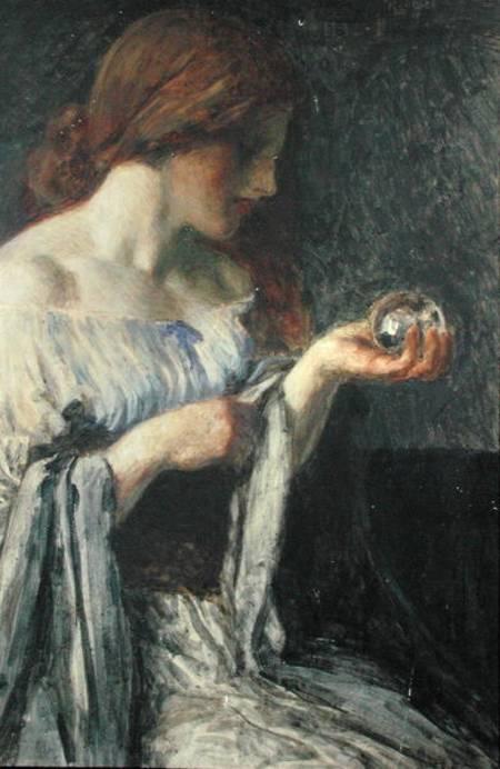 Robert Anning Bell, A bola de cristal