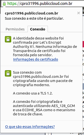 certificado letsencrypt