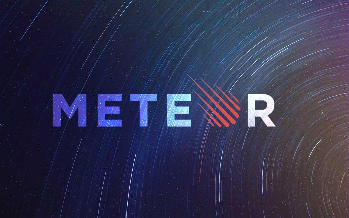 meteor logo art